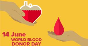 Giornata mondiale del donatore di sangue 2020
